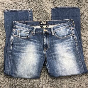 Lucky Brand Crop Denim Jeans 10/30